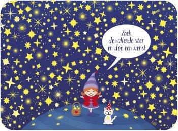 Lali Riddle Search Postcard | Zoek de vallende ster