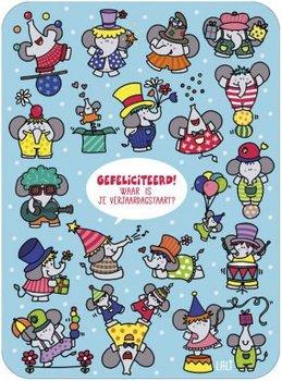 Lali Riddle Search Postcard | Verjaardagstaart