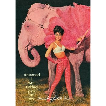 Postcard Blast From the Past - Tickled Pink