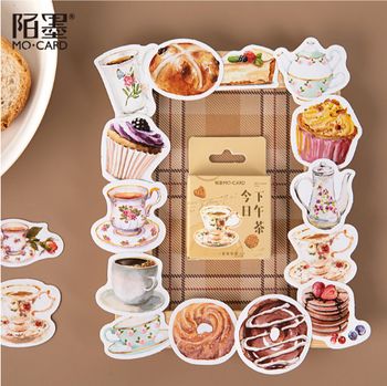 Sticker Flakes Box | Afternoon Tea