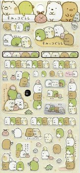 San-X Sumikkogurashi Seal Sticker