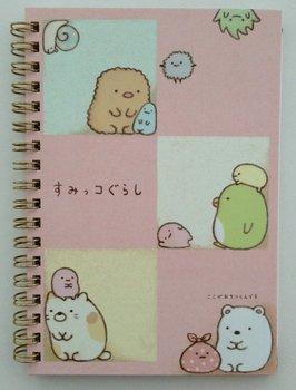San-X Sumikkogurashi Ring Binder Notebook