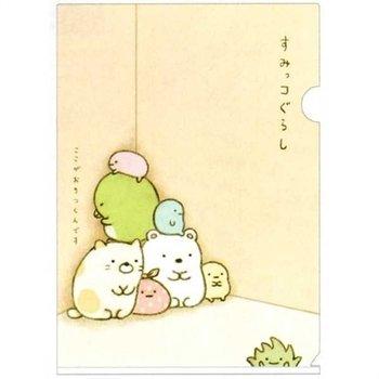 San-X Sumikkogurashi A4 Plastic File Folder