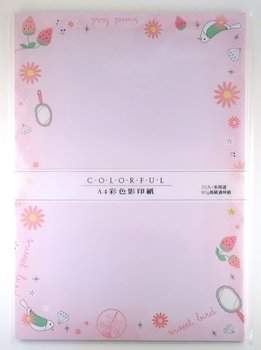 Colourful Large Letter Paper | Sweet Bird