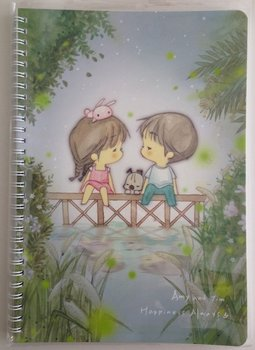 Amy and Tim Ring B5 Binder Notebook