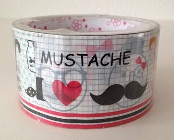 Large Decotape | Mustache
