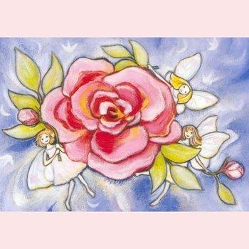Postcard Geertje van der Zijpp | Rose-elves