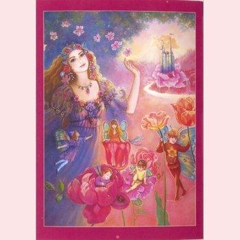 Postcard Fantasy Judy Mastrangelo | Flora's realm