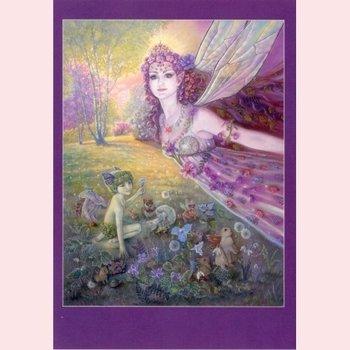 Postcard Fantasy Judy Mastrangelo | Titania's flight
