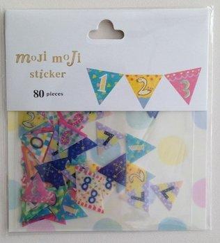 Sticker Flakes Sack | Moji Moji Numbers Banner