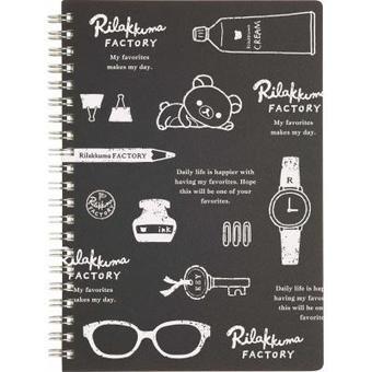 San-X Rilakkuma Ring Binder Notebook | Rilakkuma Factory