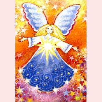 Postcard Geertje van der Zijpp | Angel of the Stars