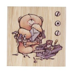 Forever Friends wooden rubber stamp | Toolkit (E stamp)