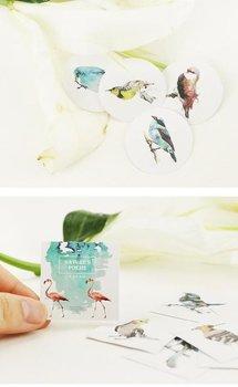 Sticker Flakes Box | Nature's Poems