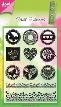 Joy!Crafts Clear Stamps | Round Neutral