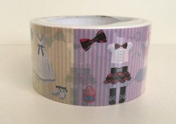 Large Adhesive PVC Decotape | Clothes