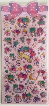 Sanrio Little Twin Stars Seal Sticker | Unicorn