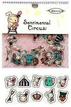 San-X Sticker Flakes Sack | Sentimental Circus