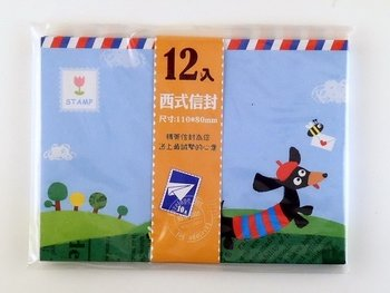 Mini Envelopes Dachshund