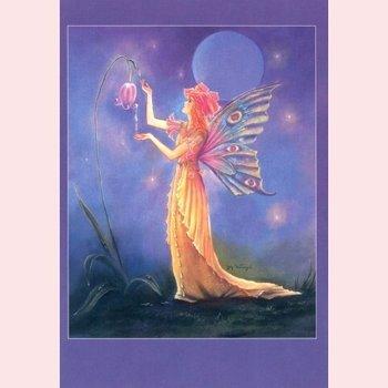 Postcard Fantasy Judy Mastrangelo | Dew drop fairy