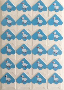 Photo Corner Stickers | Duck
