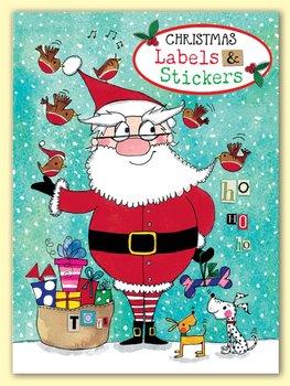 Rachel Ellen Designs - Santa - Christmas Labels and Stickers