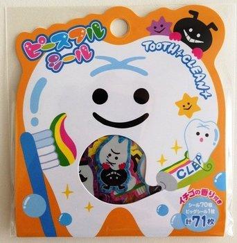 Sticker Flakes Sack Mindwave | Tooth Clean