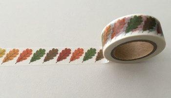 Autumn Washi Masking Tape | Autumn Leaves Single