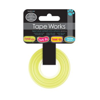 Tape Works Die Cut Tape | Thank You