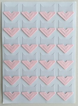 Photo Corner Stickers | Light Pink