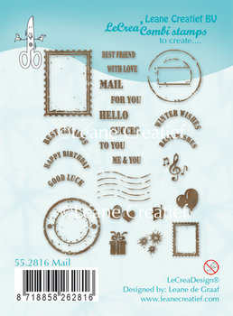 Leane Creatief Clear Stamp | Mail