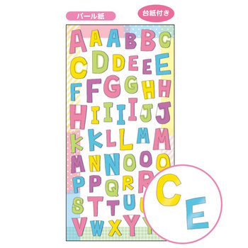 Mindwave Petit Poche Alphabet Seal Sticker | ABC