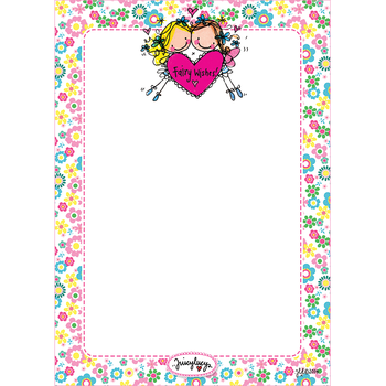 Juicy Lucy Designs A6 Notepad | Fairy Wishes!