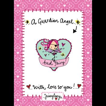 Juicy Lucy Designs Enamel Pin | Bad Fairy Pin