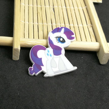 Flatbacks Planar Resin Charms | My Litle Pony Purple