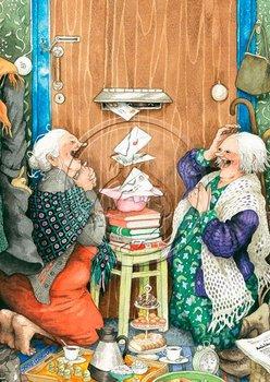 Inge Look Nr. 23 Postcard | Old Ladies Aunties