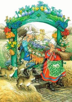 Inge Look Nr 38 Postcard | Old Ladies Aunties