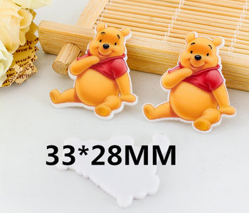 Flatbacks Planar Resin Charms | Winnie the Pooh