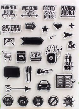 Clear Stamp Sheet | Planner Nerd