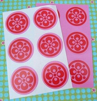 Sealing Stamp Stickers Retro