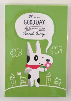 Good Day Medium Memopad   Dog