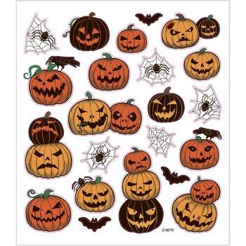 Halloween Seal Sticker with Glitter Foil