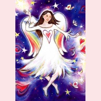 Postkarte Geertje van der Zijpp   Engel der Wunder
