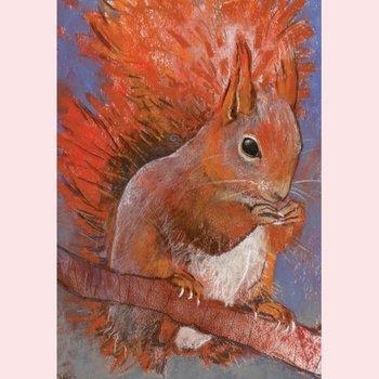Postcard Loes Botman | Squirrel