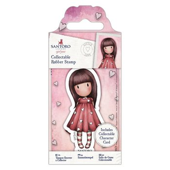 Gorjuss Collectable Mini Rubber Stamp - Santoro - No. 51 Little Love