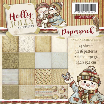 Paperpack - Yvonne Creations - Holly Jolly Christmas
