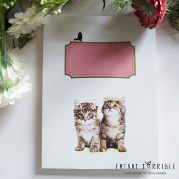 Briefpapier Set Enfant Terrible | Kitten