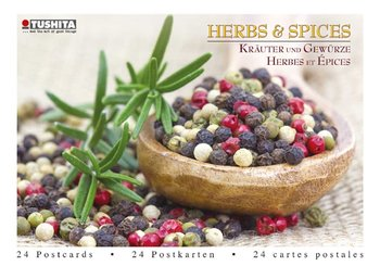 Tushita Postcard Book | Herbs & Spices
