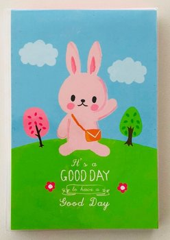Good Day Medium Memopad   Bunny