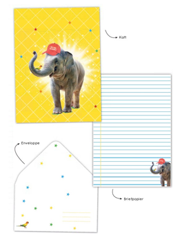 Briefpapier Set Enfant Terrible | Elephant